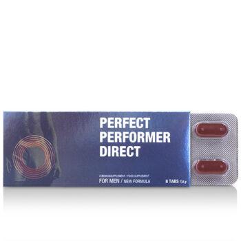 PERFEKT PERFORMER DIRECT EREKCIJAS KAPSULAS 8gab